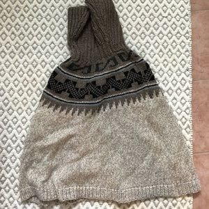 American Eagle Knitted Pancho